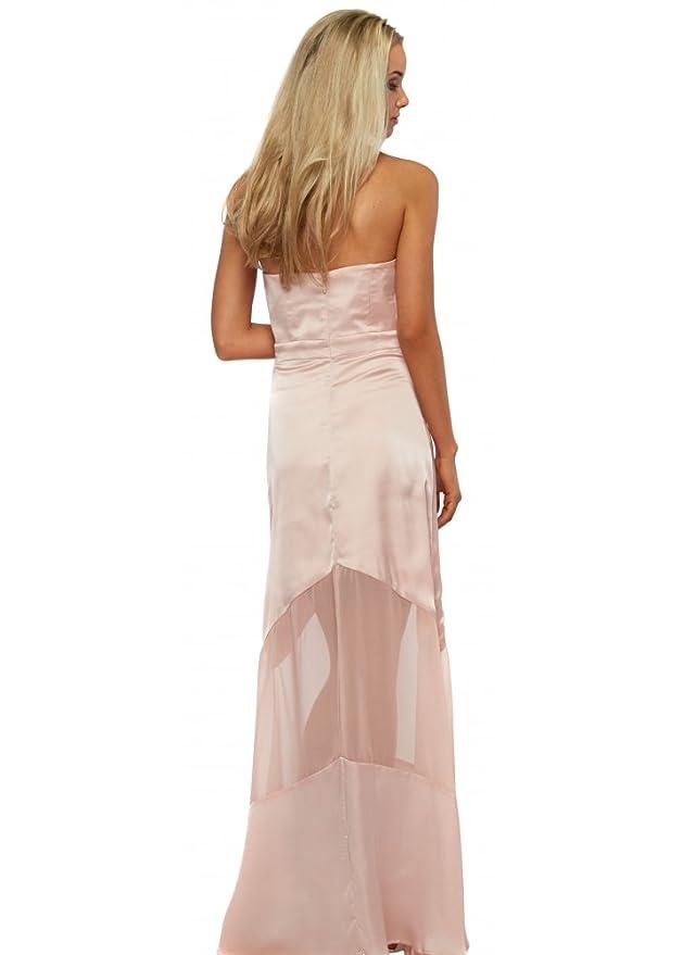 c24f101fe5 Jarlo Elizabeth Maxi Dress In Blush Pink UK 12 Baby Pink: Amazon.co.uk:  Clothing