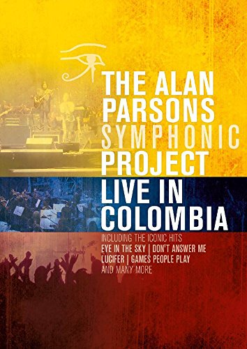 DVD : Alan Parsons - Live In Colombia (DVD)