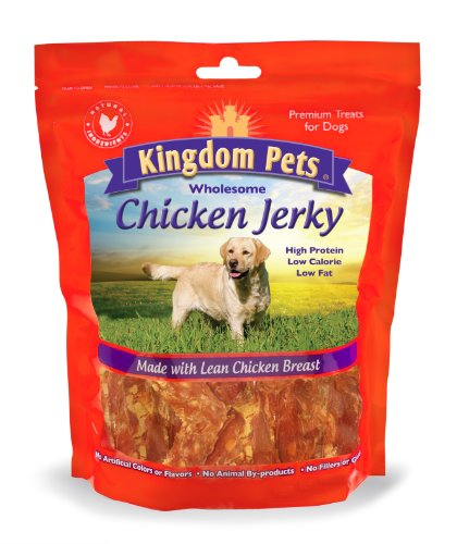 Kingdom Pets Premium Dog Treats Chicken Jerky