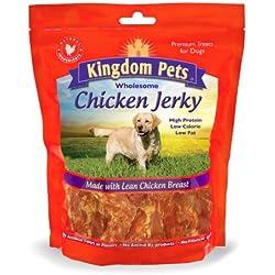 Kingdom Pets Premium Chicken Jerky Dog Treats 48 Oz.