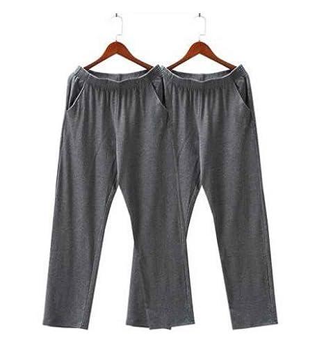 Conjunto de 2 Pantalones de chándal de algodón para Hombres ...