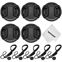 Neewer® 52MM Camera Lens Cap Kit for NIKON D3200 3100 3000 D5300 5200 5100 5000 D7000 7100 DSLR Cameras