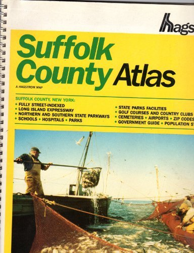 Suffolk County Atlas: sixth Large Scale Edition (Hagstrom Suffolk County Atlas Large Scale) by Hagstrom Map Company (2000-01-02)