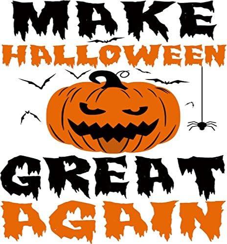 Halloween Vinyl 2020 Amazon.com: MagMake Halloween Great Again Shirt.Funny Trump