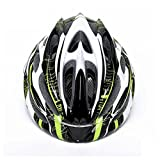 Super Light Integrally Road Bicycle Cycling Helmet With Luminous-green