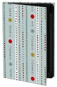 Keka Classic Dom Marshall UK Stripe - Funda con cierre para iPhone 5, diseño estampado, color gris