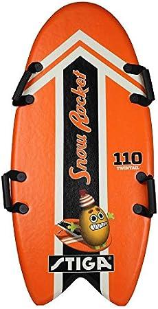 Stiga Kinder Snow Rocket 110 Twintail orange Foamboard 110 cm