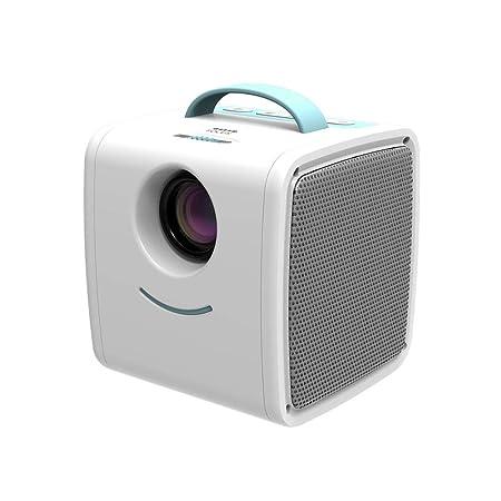 QAQWER Mini proyector portátil, proyector de vídeo Multimedia ...