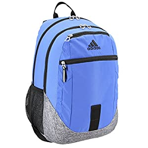 adidas Foundation III Backpack, Blue/Jersey Onix, One Size