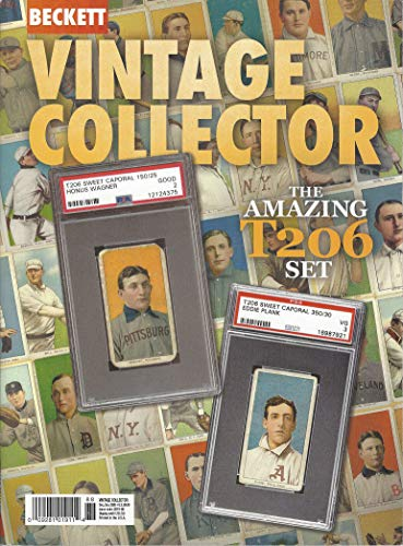 NEWEST GUIDE: Beckett Vintage Collector Price Guide (November 7, 2019 release / T206 cover) from Beckett