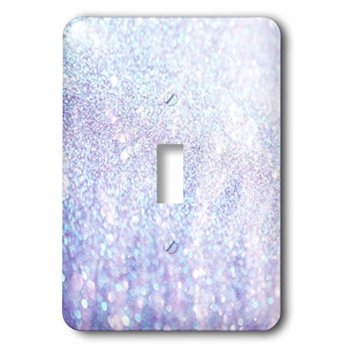 3dRose lsp_252110_1 Luxury Diamond Glitter Sparkly Single Toggle Switch by 3dRose