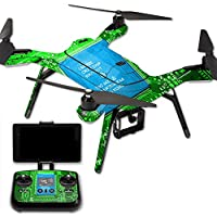 MightySkins Protective Vinyl Skin Decal for 3DR Solo Drone Quadcopter wrap cover sticker skins Circuit Board
