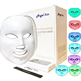 photon light board - Angel Kiss LED Photon Therapy 7 Color Light Treatment Skin Rejuvenation Whitening Facial Beauty Daily Skin Care Mask (Mask+ Portable Function Board)