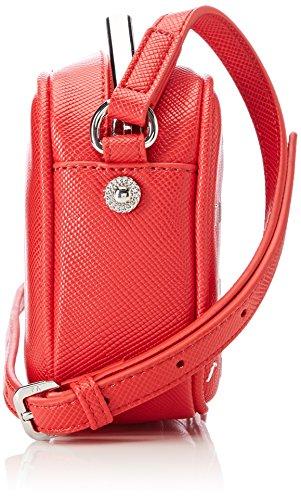 Versace Damen Linea X Umhängetaschen, 5x12.5x16.5 cm Rosso (Rosso)