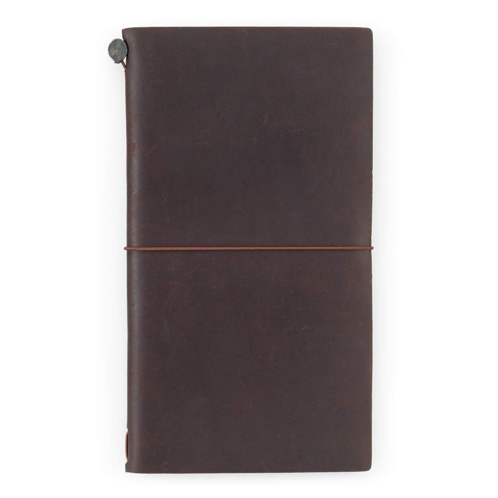 Travelers Notebook Brown Leather (1, 1 LB) by Xekia (Image #2)