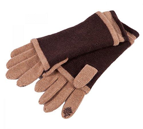 蒸留する似ているシャープAlashanカシミアClaudia Nichole 100 %カシミア3 in 1 Convertible Glove