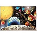 "Melissa & Doug Solar System Floor Puzzle, Floor Puzzles, Easy-Clean Surface, Promotes Hand-Eye Coordination, 48 Pieces, 36"" L x 24"" W"