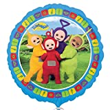 Anagram Teletubbies Official Round Foil Balloon (One Size) (Multicoloured)