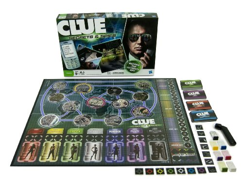 Clue Secrets and Spies (Spy Train)