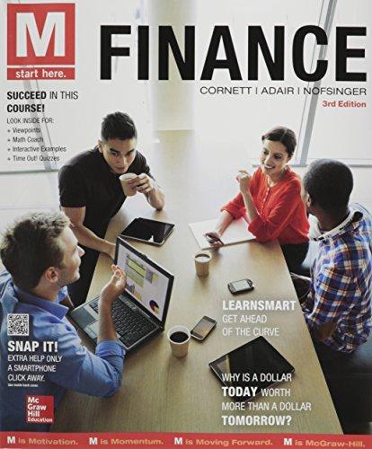 M:Finance W/Connect Access (1 Semester)