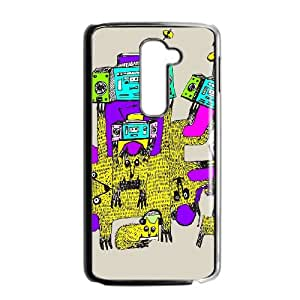 LG G2 Cell Phone Case Black ANTENNA OF CATS JNR2119212