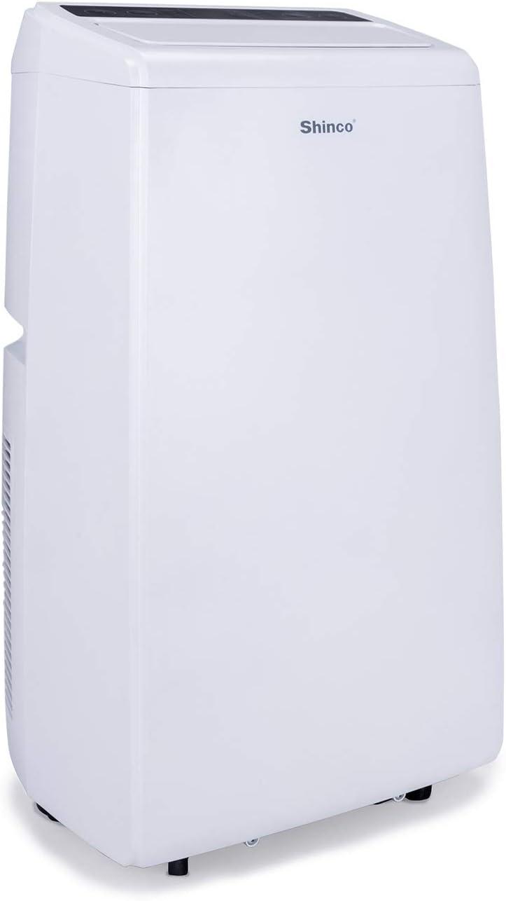 Shinco 14,000 BTU Portable Air Conditioner 11000 BTU Heater ...