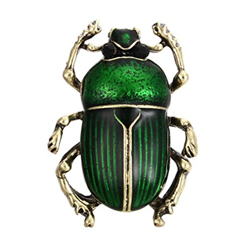 Botrong® New Enamel Alloy Colorful Insect Pins Brooches For Women Girls Party Jewelry (B)