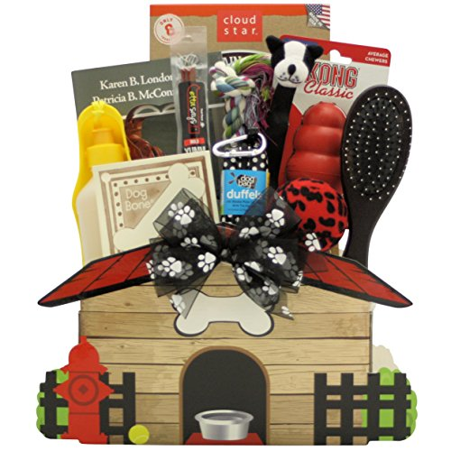 GreatArrivals Gift Baskets Congrats on Your New Pooch Pet Dog Gift Basket