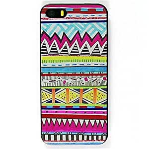QYF National Wind 5 Pattern Hard Case for iPhone 6
