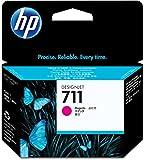 HP HEWCZ131A 711 Magenta Ink Cartridge, Magenta