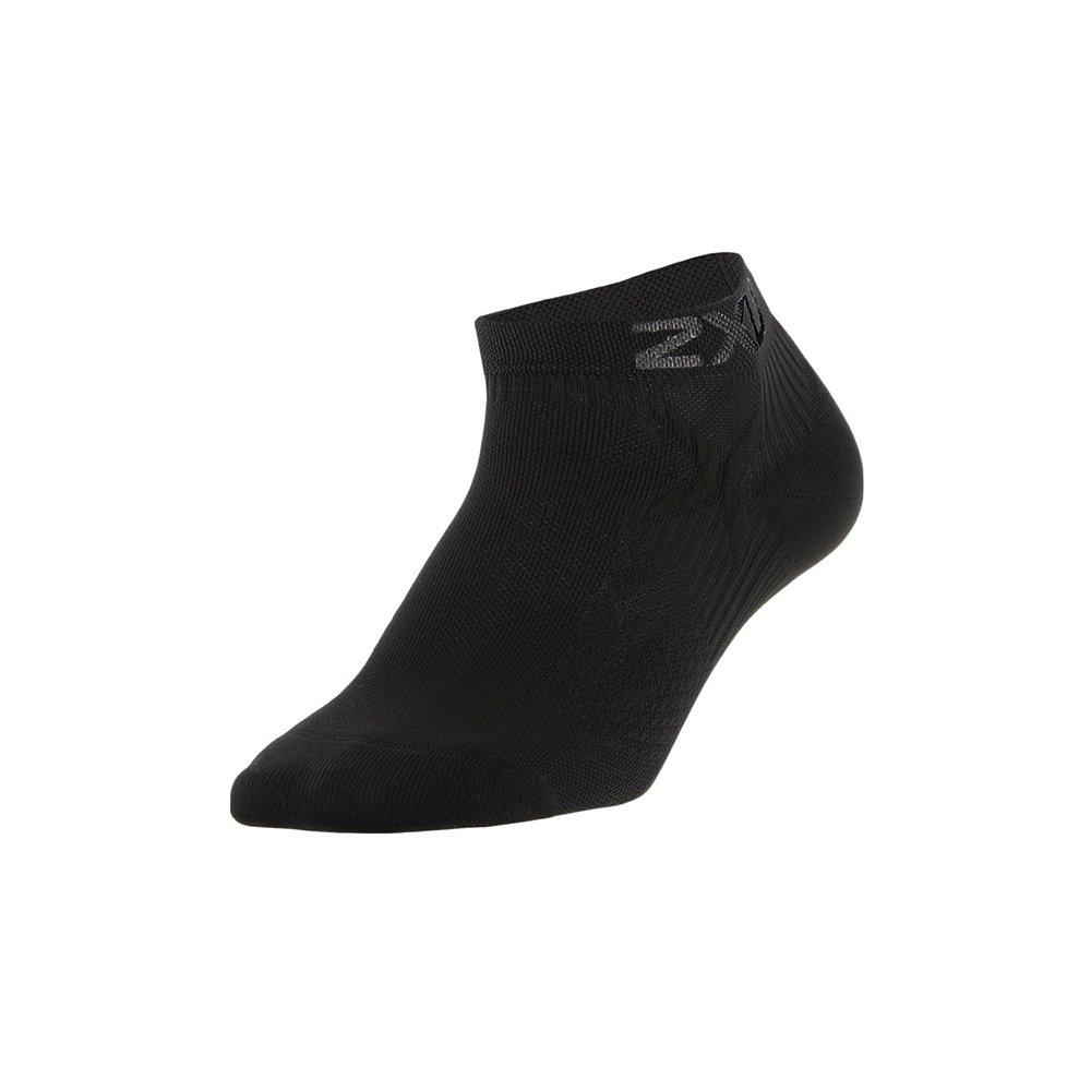 2XU Performance Low Rise Socken Herren Schwarz - S / M