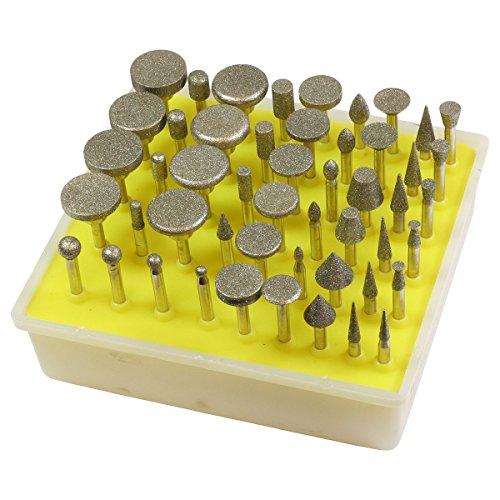 HTS 111B0 50 Pc 150 Grit Diamond Burr (Best Hts Woodworking Tools)