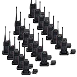 quick build ch - Retevis RT25 Walkie Talkies UHF 400-470MHz 16 CH 5 W VOX Scrambler Squelch Security 2 way radio (20 Pack)
