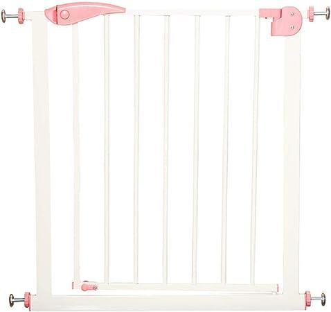 Ancho de la Puerta de Seguridad para niños 65-72 cm Escalera Puerta de la Cerca de Seguridad sin perforar Función de Cierre automático (Tamaño : Wall mounting Method): Amazon.es: Hogar