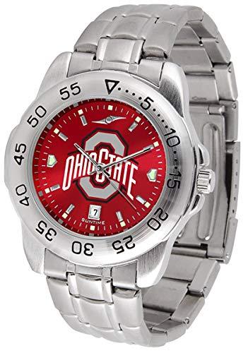 - Ohio State Buckeyes Stainless Steel Mens Sport Watch