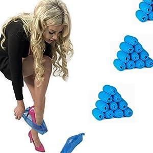 Adorox Disposable Non-Slip Shoe Covers