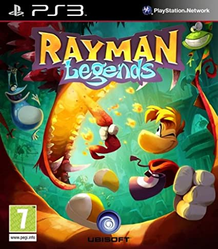 Ubisoft Rayman Legends, PS3 - Juego (PS3, PlayStation 3, Aventura ...