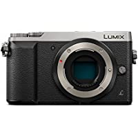 Panasonic LUMIX GX85 4K Mirrorless Interchangeable Lens Camera - Silver - Body Only (International Model)