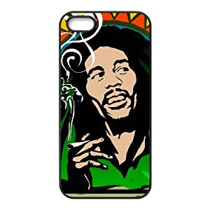 iPhone 5 5s Cell Phone Case Black Bob Marley eukc