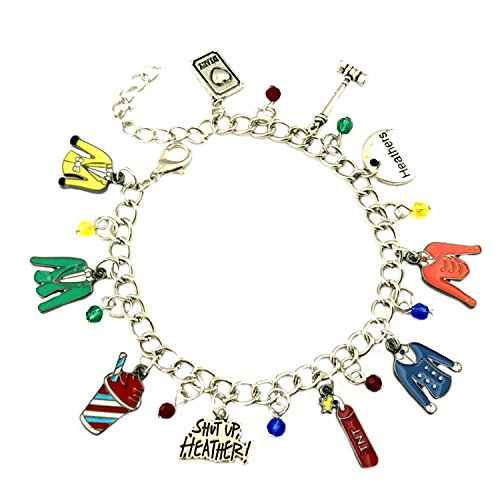 Superheroes Brand Heathers Broadway Musical Charm Bracelet Jewelry