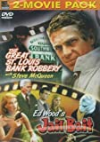 The Great St Louis Bank Robbery / Jail Bait by Steve Mcqueen