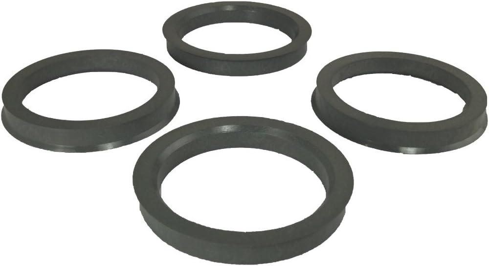 4 Zentrierringe Reduzierringe für Felgen 71,6-66,6 mm AEZ Dezent Dotz Enzo