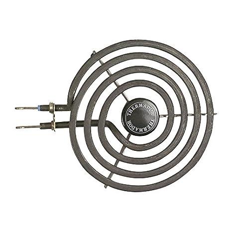 """Thermador 6 """"gama que hierva estufa quemador de repuesto superficie calefacción elemento 484782"""