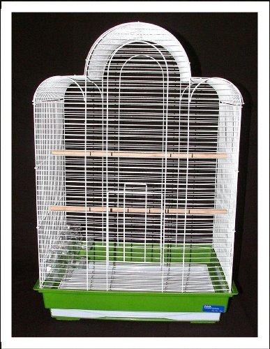 Bijou Bird Cage Black Budgie Canary Lovebirds Finches