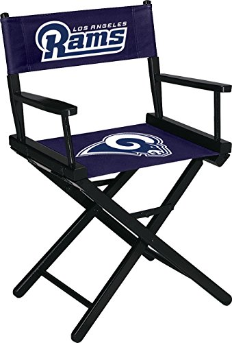(Imperial Officially Licensed NFL Furniture: Directors Chair (Short, Table Height), Los Angeles Rams)