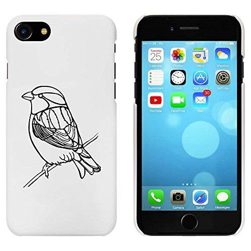 Blanc 'Moineau' étui / housse pour iPhone 7 (MC00064484)