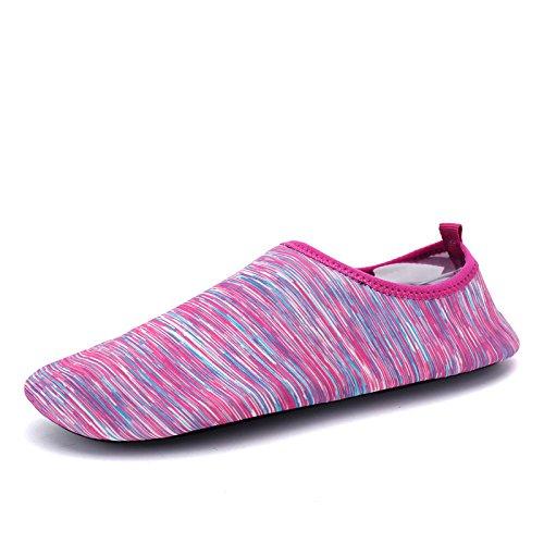elástica suave en transpirable polvo deportes aire 167 y funcional buceo playa Zapatos Lucdespo natación al libre zapatos S de multi UxxZSwO