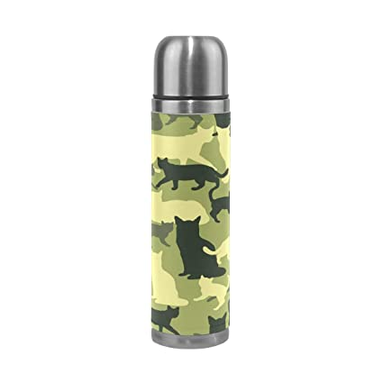 Amazon.com: JOKERR - Botella de agua con patrón de camuflaje ...