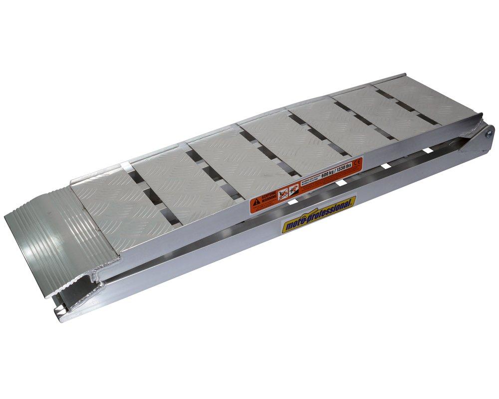 Rampa di carico Heavy Duty in alluminio, per motocicli pesanti o quad fino a 600kg, pieghevole PW
