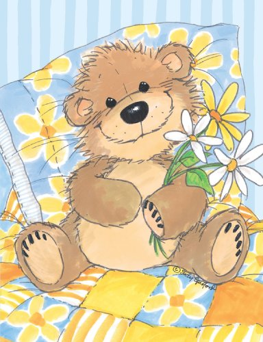 (Suzy's Note Card Collection Stationery, Willy Bear's Daisy - 10857)